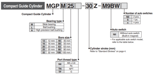 SMC MGPA20-100Z